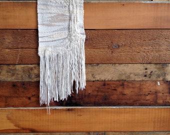 Woven Wall Hanging Tapestry Weaving Cotton Wool Alpaca Fiber Art Textile Home Decor Markota1970