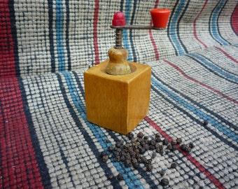 Vintage Russian grinder mill black pepper