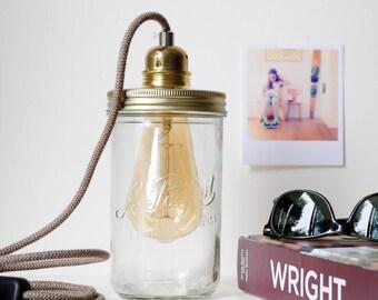 Vintage lamp jar