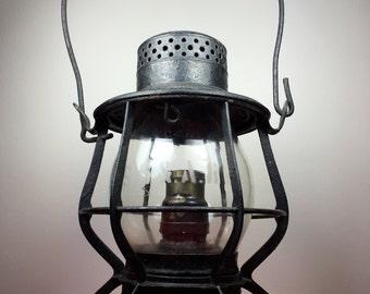 Antique lamp, vintage light fixture