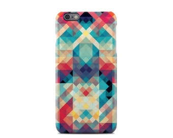 Coloured Geometric Pattern iPhone 6 Case - iPhone 6 Plus Case - iPhone 5 Case - iPhone 5S Case - iPhone 5C Case