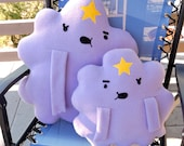 Lumpy Space Princess LSP Plush MEGA sized Pillow from TV Show Adventure time roughly 15 x 20 inches large and sassy. Whatever. Oh my Globs.