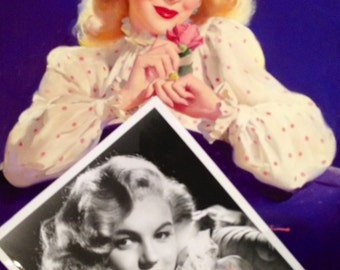 NeW! 2 for 1 Collectors MARILYN MONROE Plus Elvgren M.M. Pinup Canvas Giclee + OVERSIZED 16 x20 Boxed Book De Dienes, Norma Jean