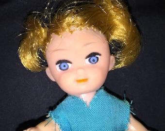 Vintage Vinyl Small Doll