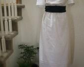 SALE - 1914 White Afternoon Tea Dress