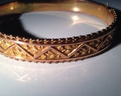 9 ct Victorian Gold Bracelet 9 kt (.375) - 13.8 grams