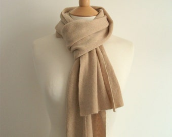 Fawn Cashmere Scarf