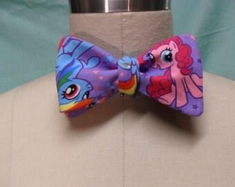 Purple My Little Pony Bow Tie