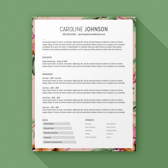 resume border size