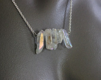 Crystal Iridescence Necklace