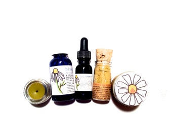 Chamomile Skin Care Set . all natural beauty