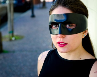 Dread Pirate Roberts Halloween costume - leather mask - Made to Order