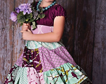 Made to match Viola Dress by Corinna Couture Chunky Necklace for Little Girls