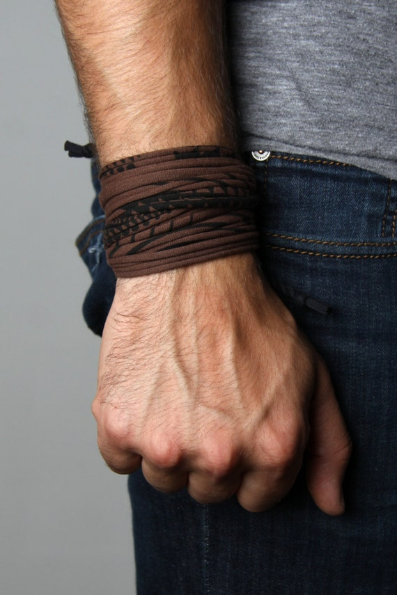 Mens Bracelet, Boyfriend Gift, For Men, Wrap Bracelet, Mens Jewelry, Boyfriend, Bracelet Mens, Gift for Him, Jewelry Men, Tribal Bracelet
