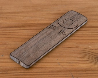 Wooden Apple TV Remote Case - iTV Remote Case in Walnut - Made from Real Wood!