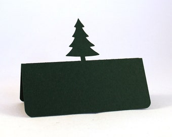 Pine Tree Place Cards Set of 50