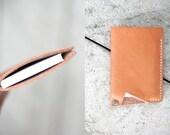 "Handmade Leather Card Holder - Wallet // ""Card Holder"" by fullgive"