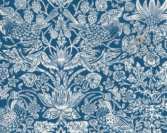 limited stock - liberty of london - tana lawn cotton - limited edition print -  2015 - strawberry meadow