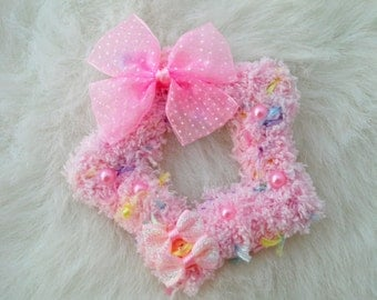 2-Way Pink Pastel Mix Barrette and Pin Combo