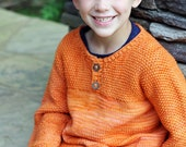 make your own Habanero Henley (DIGITAL KNITTING PATTERN) for kids boy girl toddler child tween