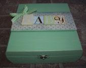 Baby Memory Keepsake Box