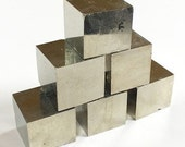 Pyrite Cube Crystal, Near Perfect, Large, Mineral, Gemstone from Spain
