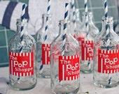 Pop Shoppe Soda Bottles