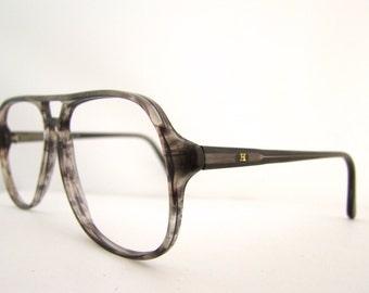 Amazing Hakim Mens 1970s large lens eyeglasses excellent Style