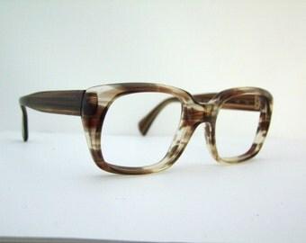 Mint Metzler brand  Tortoise  Eyeglasses 1960S ,STUNNING Germany
