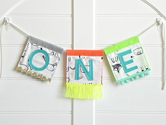 One High Chair Banner