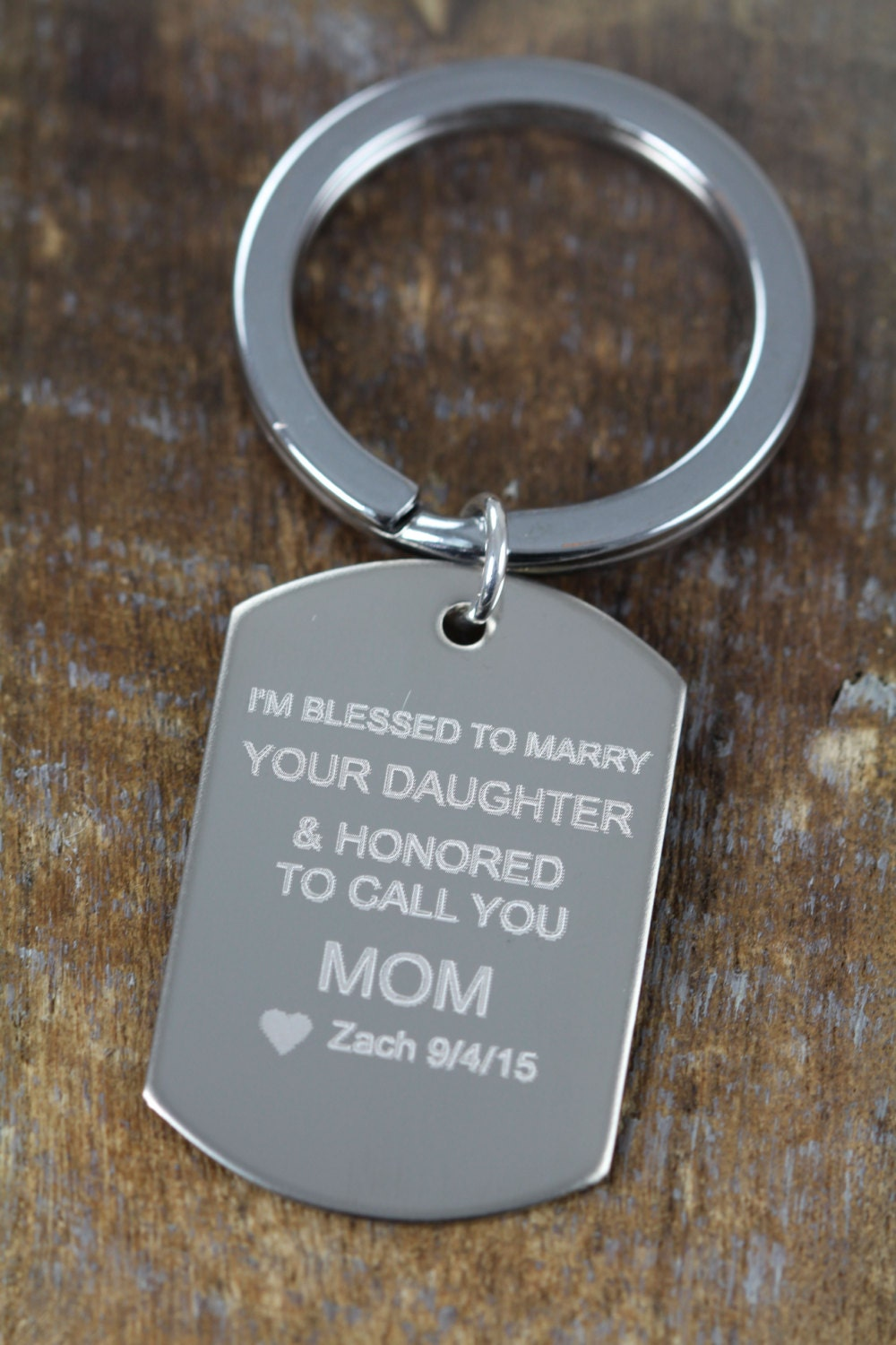 Personalized Wedding Gift For Mom : Personalized Wedding Gift for Father in Law Mother of the