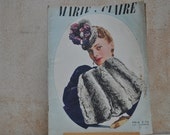 1930s  Fashion Magazine for Inspiration, Collections, Collage, Scrapbooking, Decoupage-Marie Claire October 28 1938