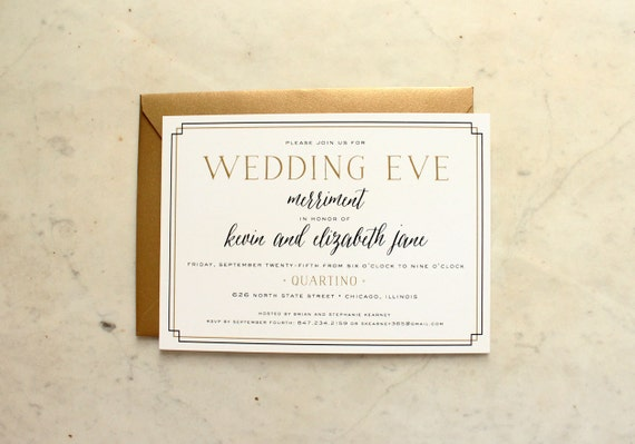 Wedding Welcome Dinner Invitation Wording: Wedding Eve Party Rehearsal Dinner Welcome Party Or Wedding