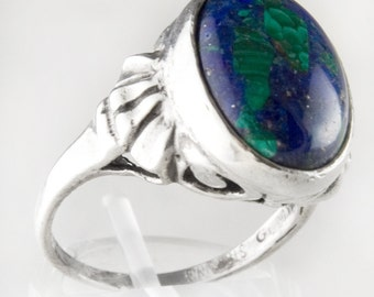 Mother Nature Azurite Ring