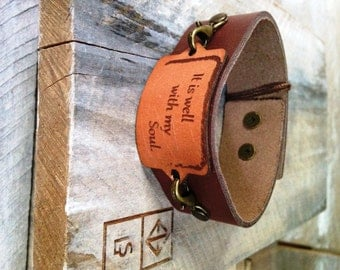 Leather Cuff Braclet