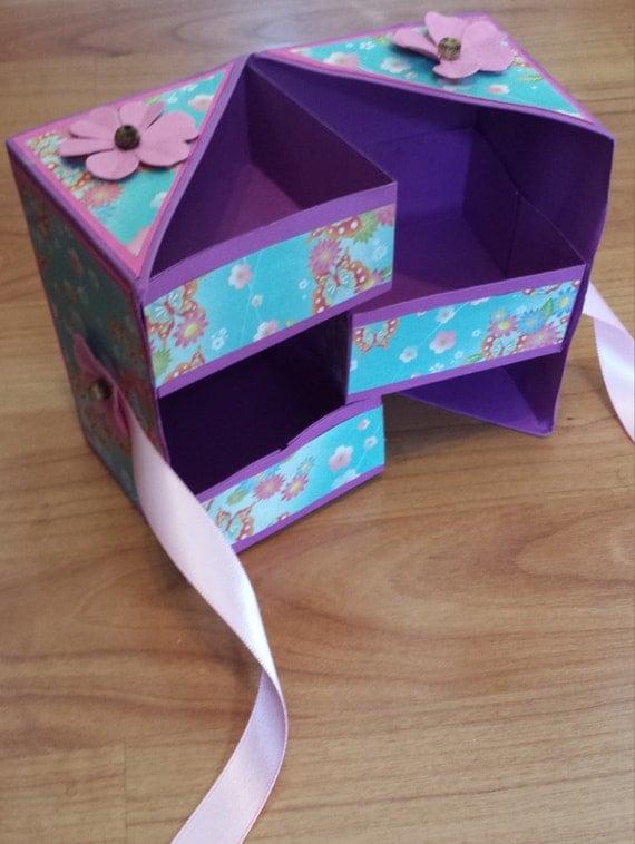 Hidden drawer jewelry box storage for Hidden jewelry drawer