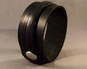 Cuff Bracelet-Leather Bracelet-Men's Bracelet-Gifts-Wrist Cuff-Leather Cuff Bracelet-Women's Leather Bracelet-Women's Bracelet-Black Cuff