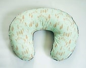 Tree Boppy Cover - Minky Boppy Cover - Timberland Dew - Personalized Boppy Cover