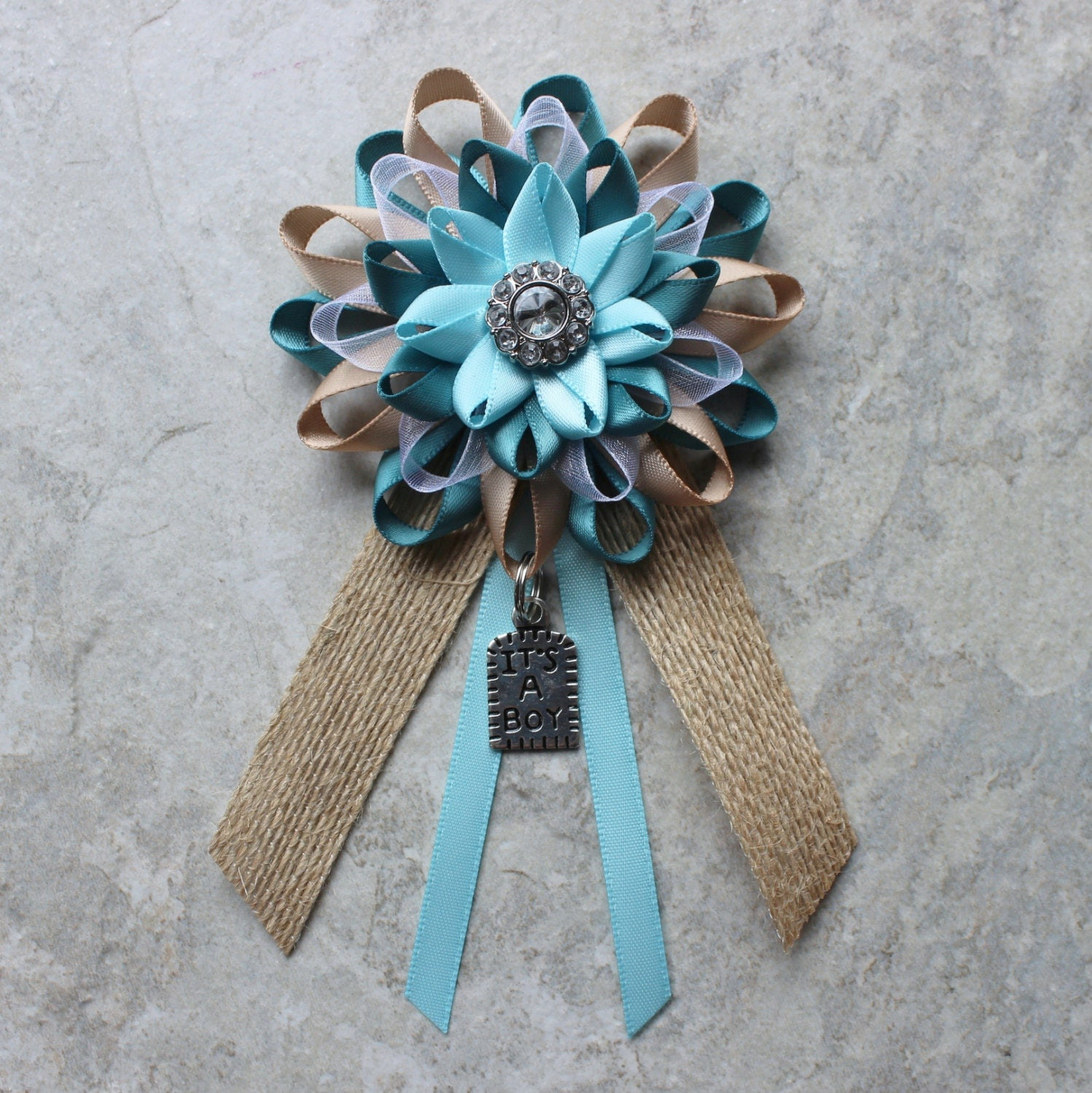 Rustic baby shower decorations boy by