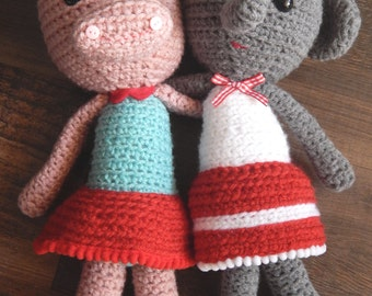 Amigurumi Doll Eli and Pippa