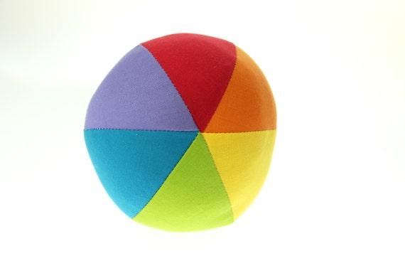"Rainbow Small (4"") Cloth Ball"