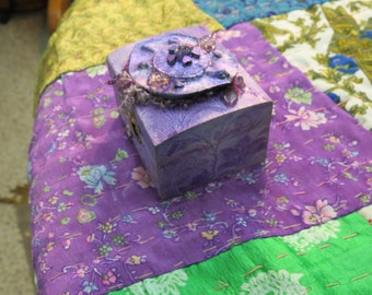 lavender turtle spirit  mini box