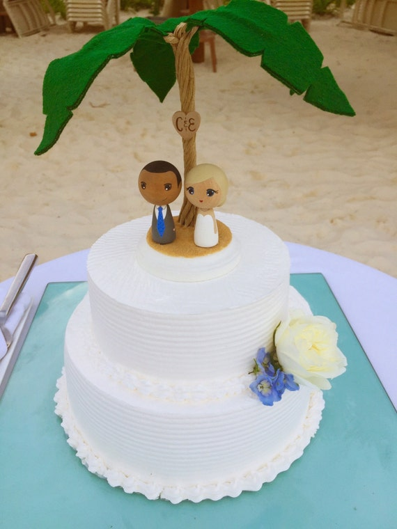 mini you wedding cake toppers items similar to custom mini kokeshi wedding cake toppers 17438