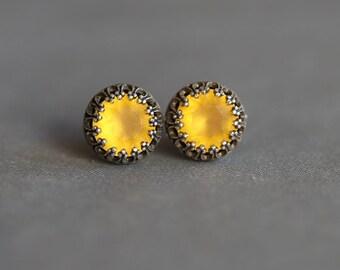 Jewelry,Earring,Post Earring,Post,Stud,Honey Drop Earrings,Opal,Bridal Earrings Bridesmaid Gift Wedding Earrings