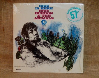 The Animals - Eric is Here - 1967 Vintage Vinyl Record Album...Promotional Copy