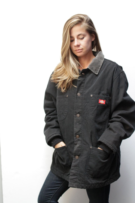 Womens black denim jean jacket