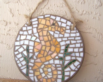 Seahorse Wall Art Stained Glass Mosaic Art Seahorse Decor Seahorse Wall Hanging Beach Decor Coastal Home Decor Small Wall Art Unique Gift