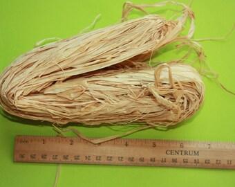NATURAL RAFFIA Bundle 2oz = 50 gram