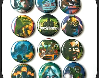 """Goosebumps Book Covers - 1"""" Button Choose Your Own"""