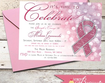 Fight Against Breast Cancer Invitation - Strengths Courage